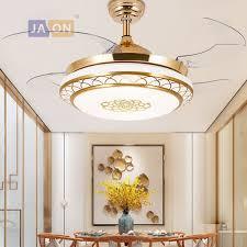 2019 <b>LED Modern Iron Acryl</b> ABS Remote Control Ceiling Fan LED ...