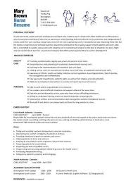 nurse resume school nurse resume sample