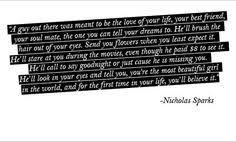 Sparks on Pinterest | Nicholas Sparks, Nicholas Sparks Quotes and ... via Relatably.com