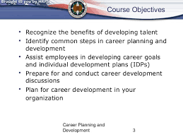 career planning and development class