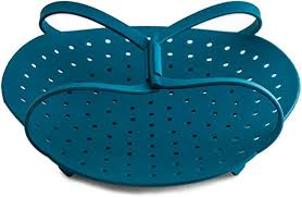 <b>Vegetable Steamer</b> Basket With Best FDA Approved <b>Silicone</b> Great