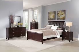 glass bedroom furniture rectangle shape wooden cabinets: modern dark brown sleigh furniture sets gray wall bedroom also white bed and cabinet with mirror