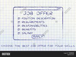 choose the best job offer for your skills pop up list stock choose the best job offer for your skills pop up list