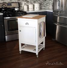 cute kitchen island wheels hit  white wooden simple minimalist design small kitchen carts and isl