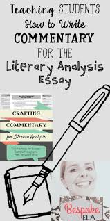 17 best ideas about literary essay essay writing writing commentary is undoubtedly the most difficult part of writing any essay all other parts
