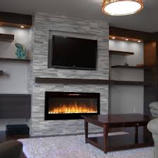 alternative modern ethanol  electric fireplaces  decor snob