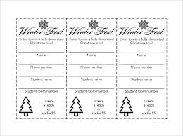 Sample Raffle Ticket Template - 20+ PDF, PSD, Illustration, Word ... Raffle Ticket Template PDF