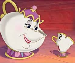 Image result for mrs potts and chip