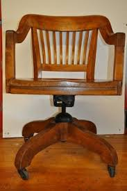 constantly on the hunt for a vintage oak swivel chair antique deco wooden chair swivel