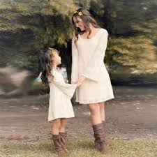 <b>Mother</b>/<b>Daughter</b> Lace <b>Boho Dresses</b> (up to 5X) | <b>Mother daughter</b> ...