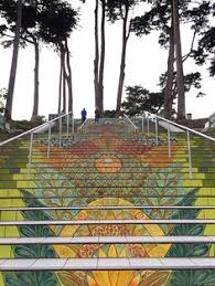 lincoln park steps one of many tiled staircases in san francisco adobe tank san francisco ca