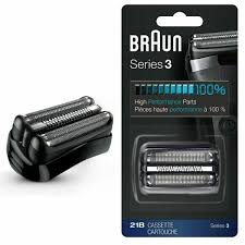 Braun <b>21B</b> Series 3 <b>Replacement Shaver</b> Head - Black for sale ...
