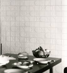 stick wall tiles quotxquot: ceramic d wall tile kho liang le by mosa design mosa design team