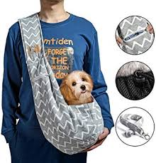 iBrowith Small Dog Cat Carrier Sling Hands Free ... - Amazon.com