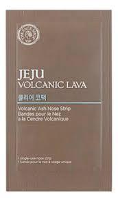 <b>Патч для носа Jeju</b> Volcanic Lava Ash Nose Strip 7шт The Face ...