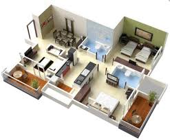 Master Bedroom Floor Plan Bedroom Entry  Studio Apartment Floor - Two bedroomed house plans