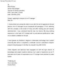 sample cover letter examples technology cover letters