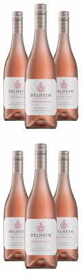 <b>New vintage</b>: Delheim Pinotage Rosé <b>2020</b> (5+1bottle wine set ...