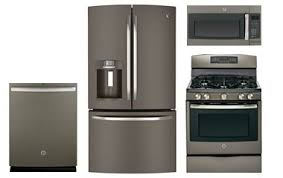 Ge Slate Kitchen Appliance Package Abt Com