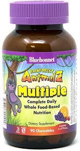 Bluebonnet Nutrition Rainforest Animalz Whole Food ... - Amazon.com