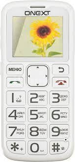Купить Мобильный <b>телефон ONEXT Care</b>-<b>Phone</b> 5, белый в ...