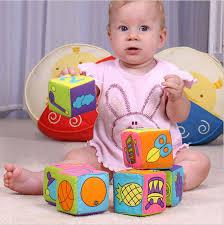 <b>HOT</b>!! 6pcs in <b>1 Set</b> Cloth Building Blocks <b>New</b> Infant Baby Cloth ...