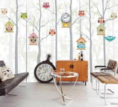 Bacaz Large Cute Panda Trees 3D <b>Cartoon</b> Murals Wallpaper for ...