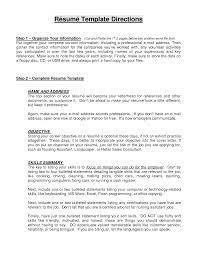 sample resume objective statement berathen com sample resume objective statement to inspire you how to create a good resume 16