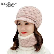 <b>BINGYUANHAOXUAN</b> 2019 New Winter <b>Caps</b> Knit Thick Wool ...