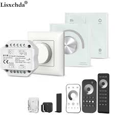 5 Channel <b>2.4G</b> RGB+CCT LED <b>RF</b> Controller DC12 24V <b>Wireless</b> ...