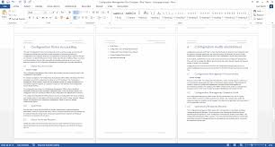 configuration management plan 24 page ms word template and the next chapters looks at how to document the configuration status audits and reviews