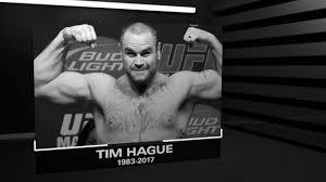 R.I.P. Tim Hague 1983-2017 - YouTube