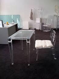 lucite desks acrylic office furniture home