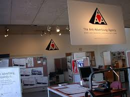 anti advertising agency office anti advertising agency office