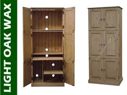 hideaway sideboard office computer storage hideaway computer cupboard ebay bedford grey painted oak furniture hideaway office