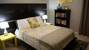 decor yellow gray ideas
