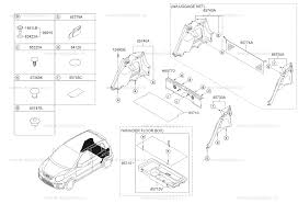 <b>Накладка багажного</b> отсека на Киа Монинг/Пиканто (Kia Morning ...