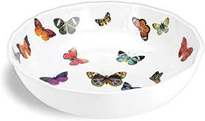 Michel Design Works Bistro Bowl, Papillon: Serving ... - Amazon.com