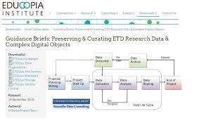 ETDplus project   towards reliably preservation of Electronic     AIMS fao