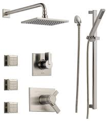 ideas shower systems pinterest: view the delta dss vero t tempassure t series thermostatic shower system with integrated