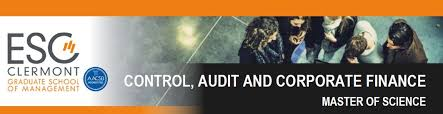 MSc  in Control  Audit and Corporate FinanceGroup ESC Clermont     ESC Clermont