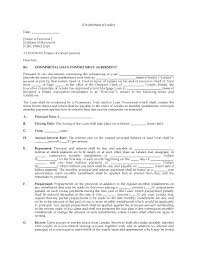 usa commercial loan commitment letter legal forms and business picture of usa commercial loan commitment letter