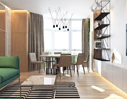 Contemporary Apartment Design Contemporary Apartment Design Combine With Natural Plant
