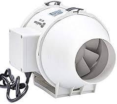 Inline <b>Duct Fan</b>, Hon&Guan <b>4 Inch</b> 116 CFM Silent <b>Exhaust Fan</b> ...
