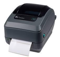 Label Printer <b>Zebra GK420T</b>; direct thermal, thermal transfer; parallel ...