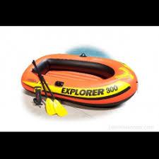 Отзывы о <b>Лодка</b> детская надувная <b>Intex Explorer 300</b> Set