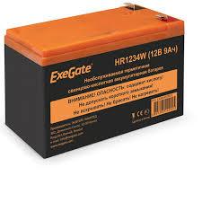 <b>ExeGate</b> - Продукция - Аккумуляторы