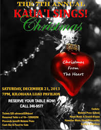 7th annual kauai sings christmas saturday 21 2013 7 xmas flyer jpg xmas flyer jpg