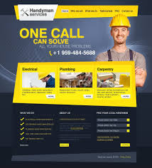 home repairs website template 27412