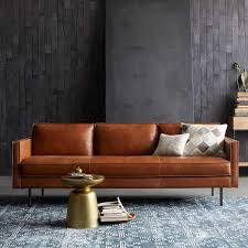 Nordic <b>minimalist Italian style</b> leather sofa <b>modern minimalist</b> living ...